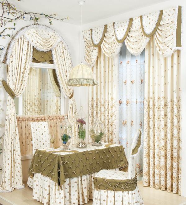欧式风格窗帘的搭配选购小知识及效果图