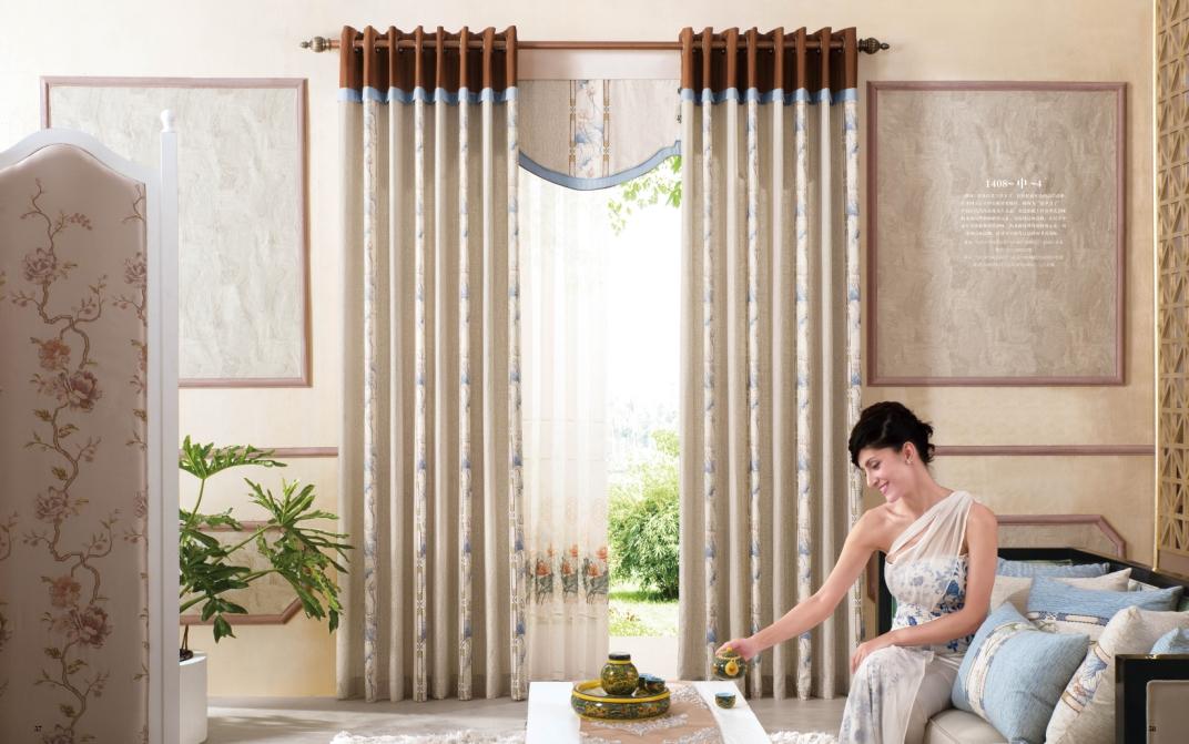 摩力克窗帘---感受新中式风格的魅力