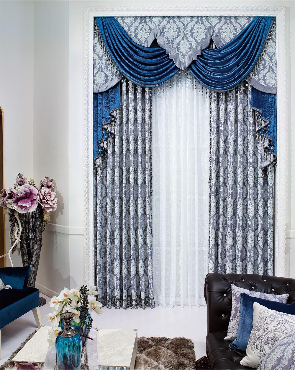 欧式窗帘帘头的做法_经典欧式风格窗帘|欧式窗帘|上海文宗缘商贸有限公司