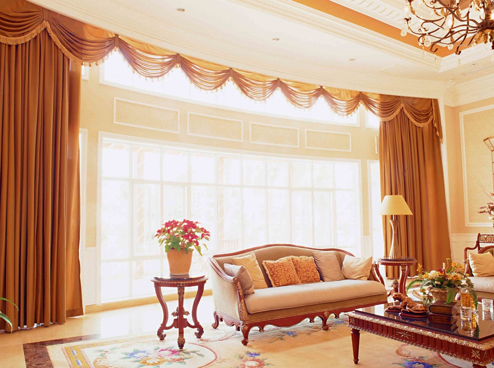 客厅窗帘怎么选?