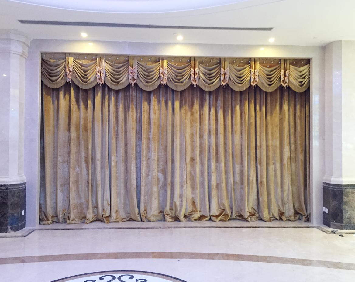 星级酒店用哪种面料款式的窗帘