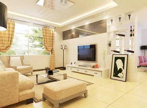 客厅窗帘如何搭配?用什么颜色好?这可是非常重要的问题。客厅窗帘的颜色和款式会直接的影响到整个客厅的视觉效果,因此选择客厅窗帘一定要仔细哦 今天小编整理了一些不同风格的客厅与窗帘的颜色搭配供大家参考,希望能对你有所帮助~ Q:我家墙是白色,沙发是浅色,客厅窗帘用什么颜色比较好? A:客厅地板是米白色,窗帘主要选择了暖色系的棕黄色条纹窗帘营造出一种简约却不单调的氛围,通过壁画与沙发抱枕的点缀,充实了整个客厅。具体可参照下图。  Q:客厅家具颜色是浅色的,地板是白色的,用什么颜色窗帘好? A:客厅装修风格是现代