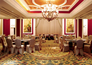 酒店窗帘工程案例---金海华丽嘉大酒店