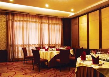 酒店窗帘工程案例---皇冠假日酒店