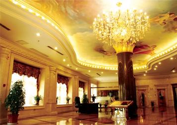 酒店窗帘工程案例---天成国际大酒店