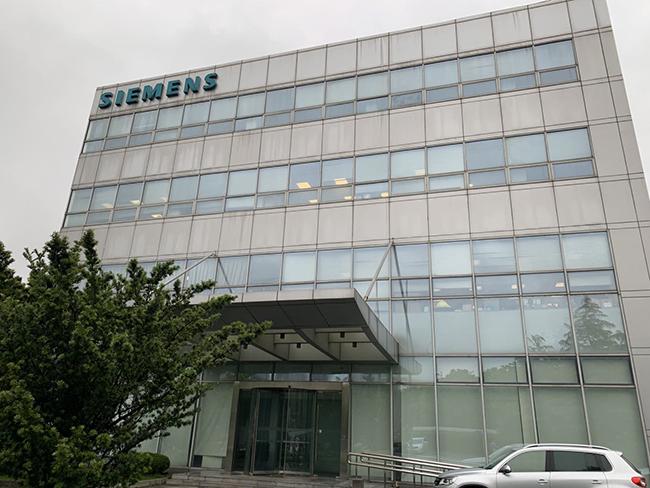 上海西门子开关有限公司C大楼百叶窗帘项目