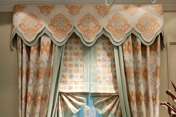 中式风格窗帘|中式窗帘|上海文宗缘商贸有限公司图片