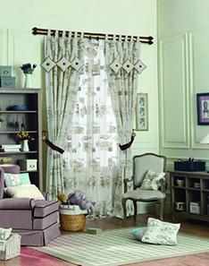 地中海式窗帘
