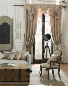 地中海风格窗帘1