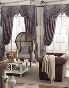 欧式风格窗帘1