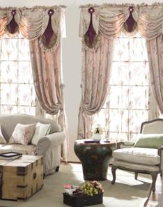 美式风格窗帘1