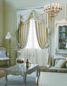 美式风格窗帘2
