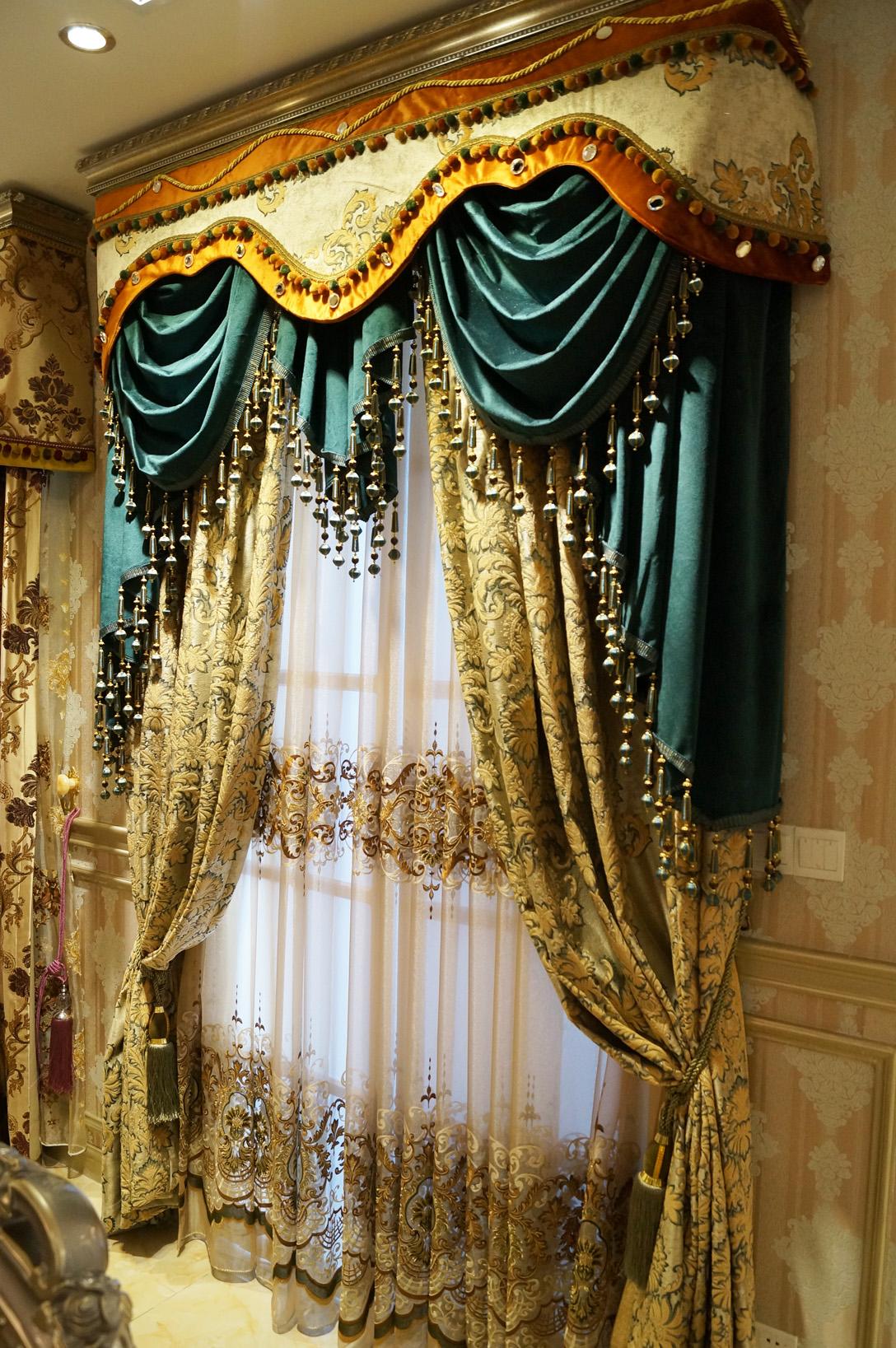 欧式风格窗帘