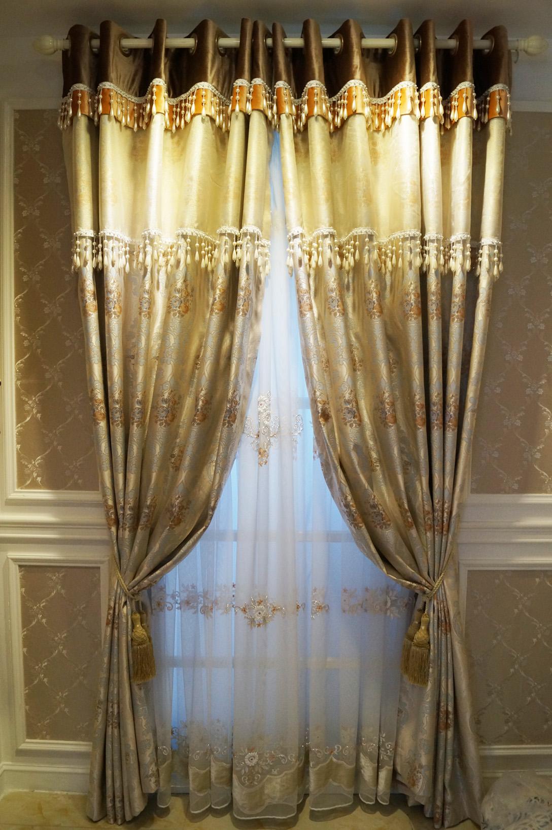简约欧式风格窗帘