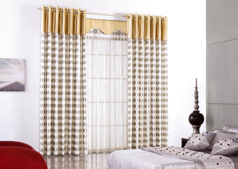 现代简约风格窗帘