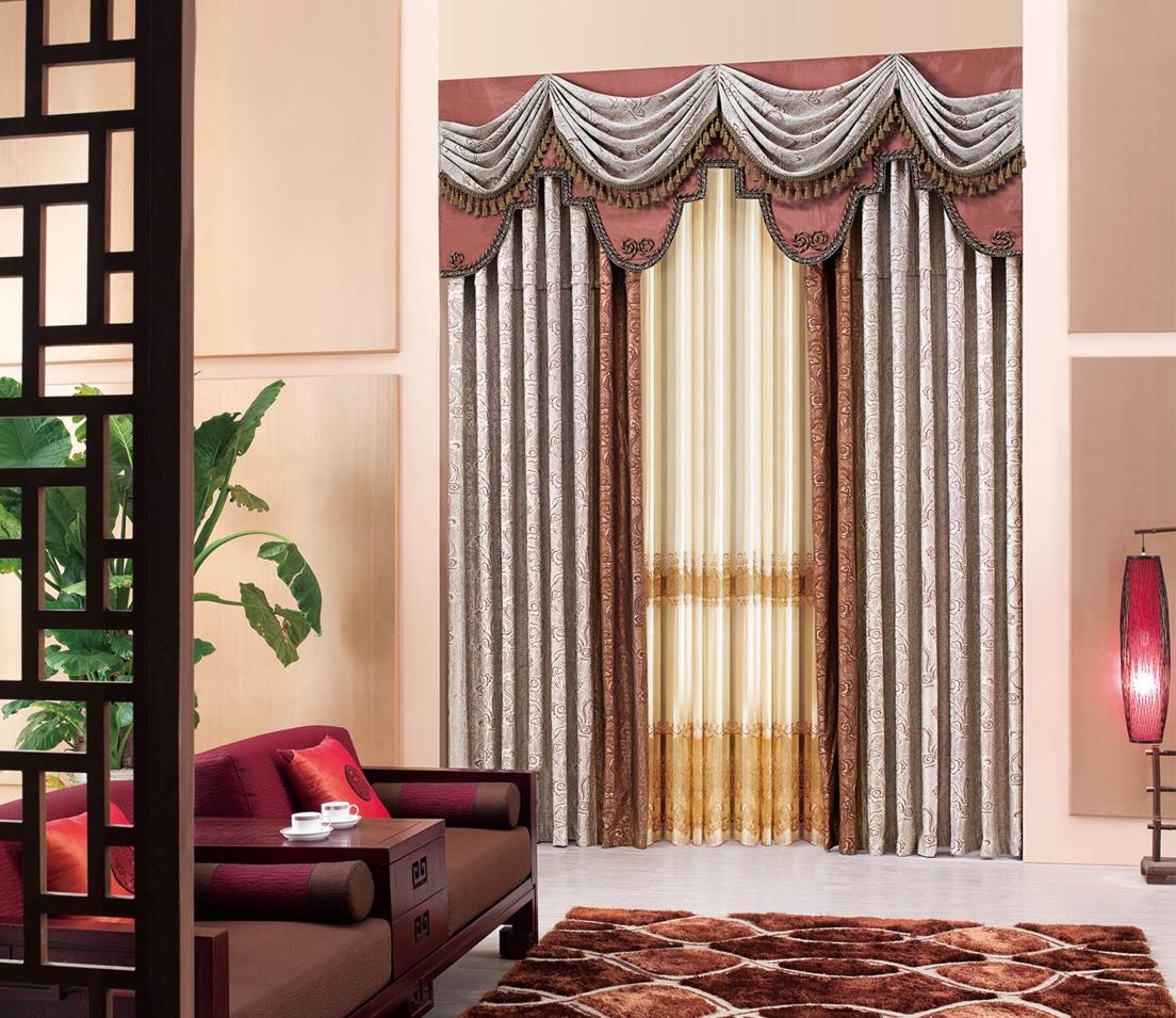中式风格窗帘